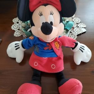 Minnie mouse doll with fall jacket